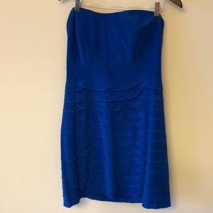 Blue Gianna Bini cocktail dress